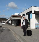 Rev. Dr Olav Fykse Tveit travelling to the Synod of the Church of Norway